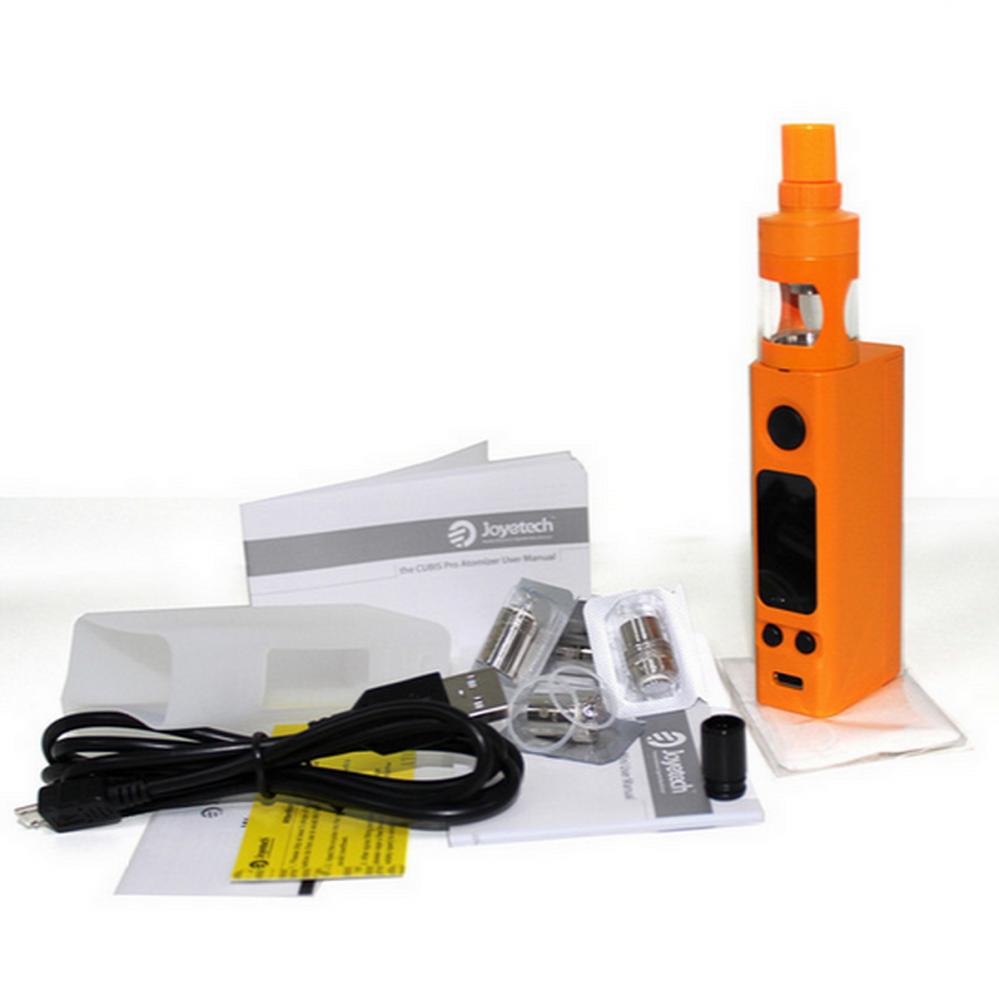 Стартовый набор Joyetech eVic Vtwo Mini Cubis Pro Kit Orange (JTEVTWMINCKOR) - 3
