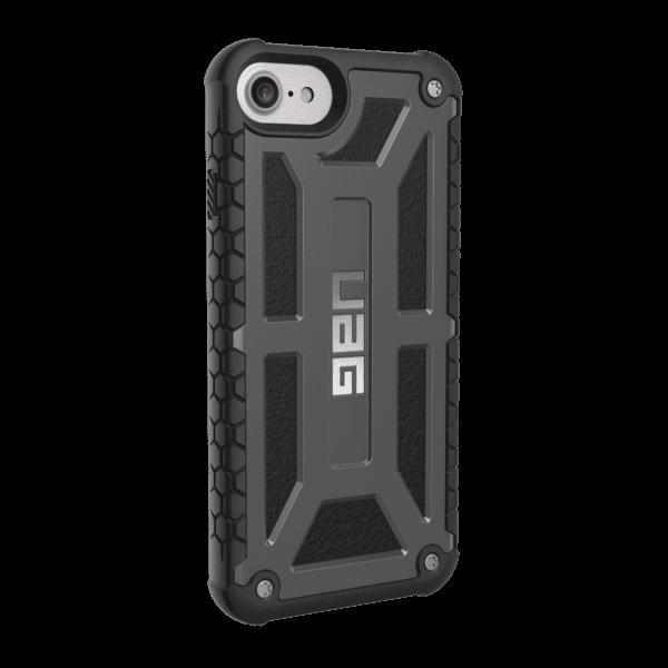 Чехол UAG iPhone 8/7/6S Monarch Graphite Black от Територія твоєї техніки - 4