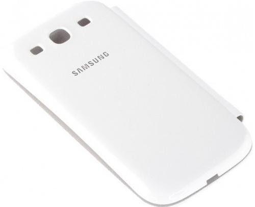 Чехол Samsung для Galaxy SIII i9300 Marble White (EFC-1G6FWECSTD) - 2