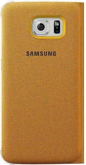 Чехол Samsung Zero для Samsung Galaxy S6 Yellow (EF-WG920BYEGRU) - 1