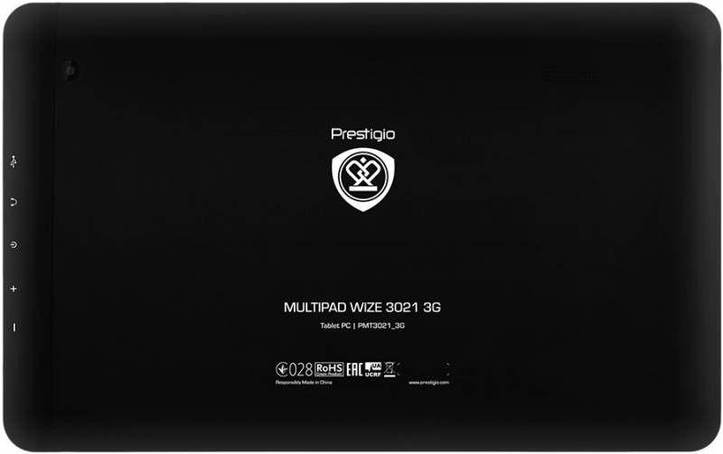 Планшет Prestigio MultiPad Wize 3021 3G Black (PMT3021_3G_B_CIS) - 1