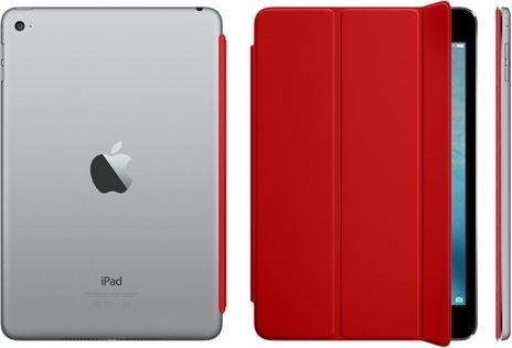 Чехол-книжка Apple Smart Cover для iPad mini 4 (MKLY2ZM/A) Red - 1