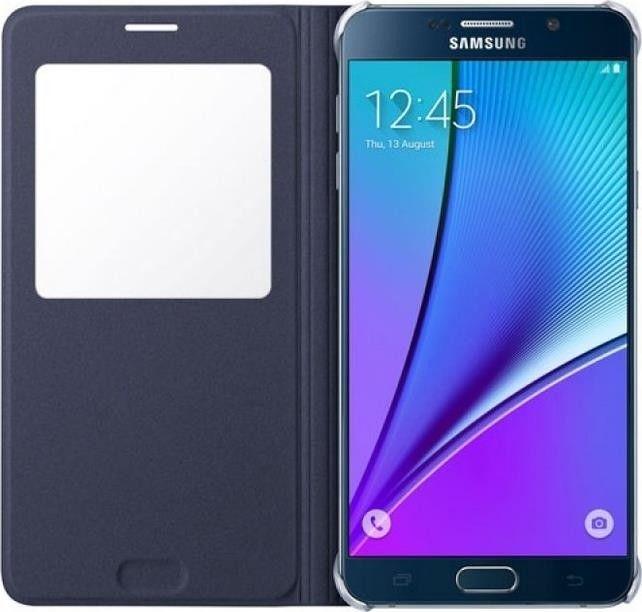Чехол Samsung Note 5 N920 EF-CN920PBEGRU Blue Black - 3
