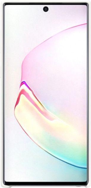 Накладка Samsung Silicone Cover для Samsung Galaxy Note 10 (EF-PN970TWEGRU) White от Територія твоєї техніки - 2