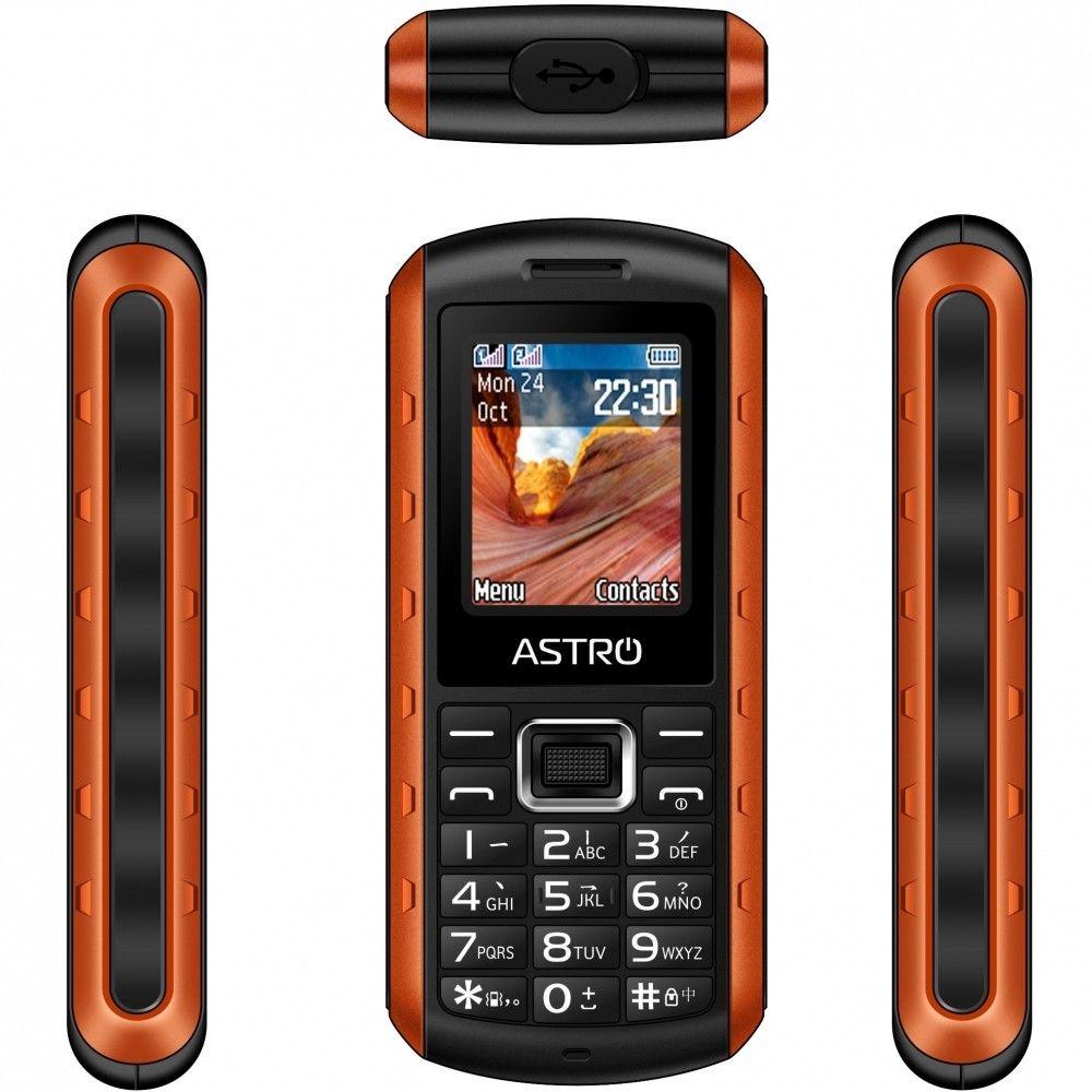 Мобильный телефон Astro A180 RX Orange - 2