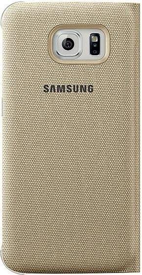 Чехол Samsung Zero Edge для Samsung Galaxy S6 Edge Gold (EF-WG925BFEGRU) - 1