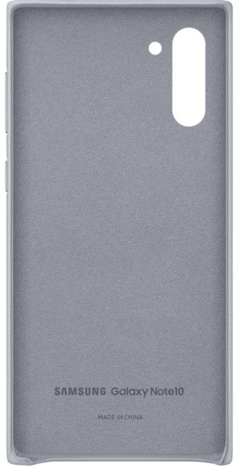Чехол Samsung Leather Cover для Samsung Galaxy Note 10 (EF-VN970LJEGRU) Gray от Територія твоєї техніки - 3