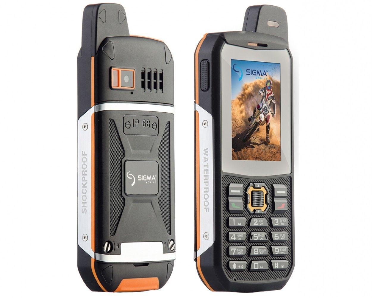 Мобильный телефон Sigma mobile X-treme 3SIM Black-Orange - 3