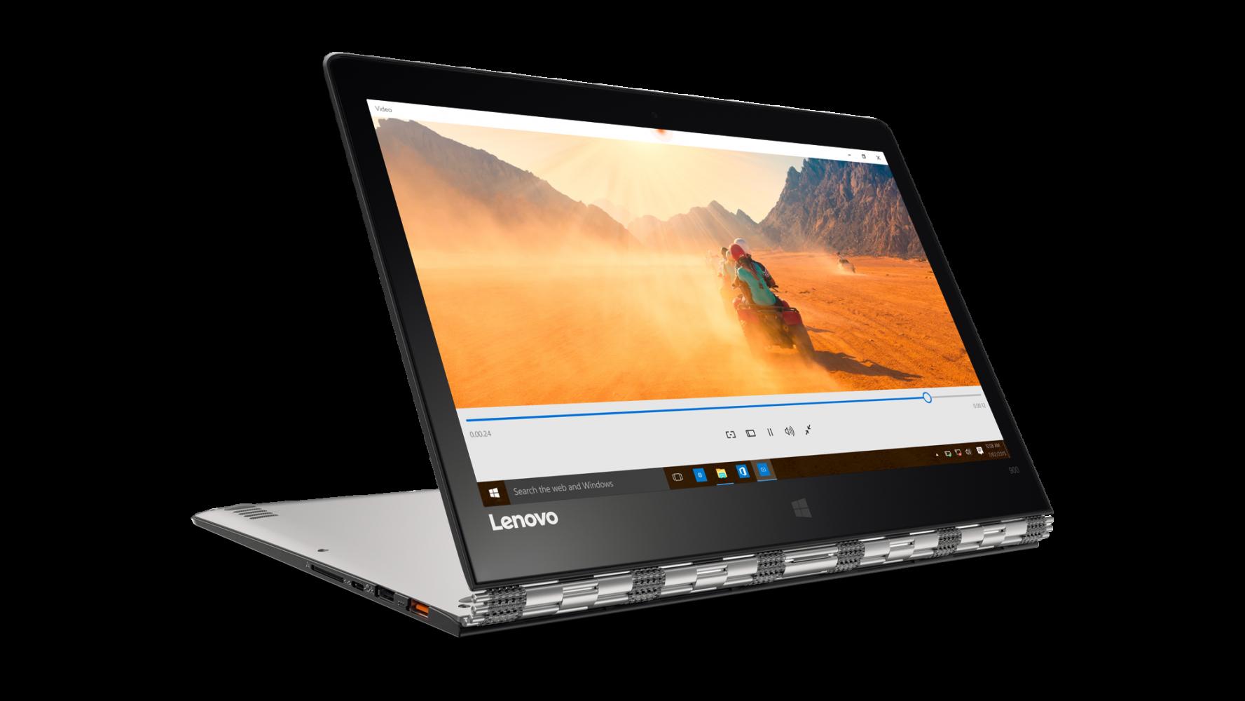 Ноутбук Lenovo Yoga 900-13 (80MK00M8UA) Silver - 4