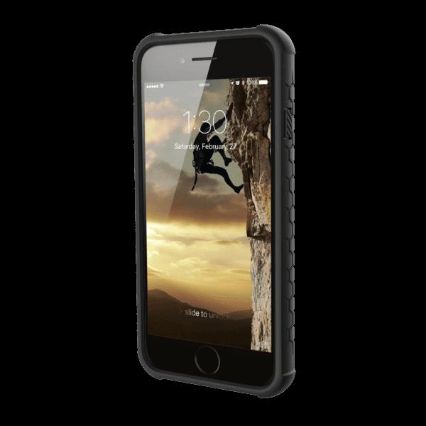Чехол UAG iPhone 8/7/6S Monarch Graphite Black от Територія твоєї техніки - 5