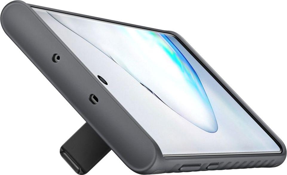 Чехол-накладка Samsung Protective Standing Cover для Samsung Galaxy Note 10 (EF-RN970CBEGRU) Black от Територія твоєї техніки - 4