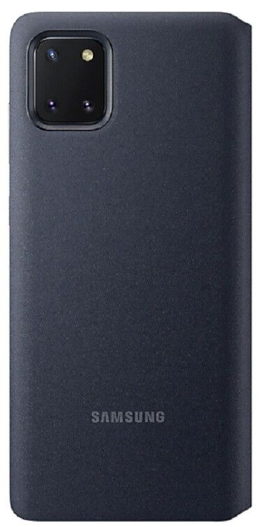 Чехол Samsung S View Wallet Cover Note 10 Lite (EF-EN770PBEGRU) Black от Територія твоєї техніки - 3