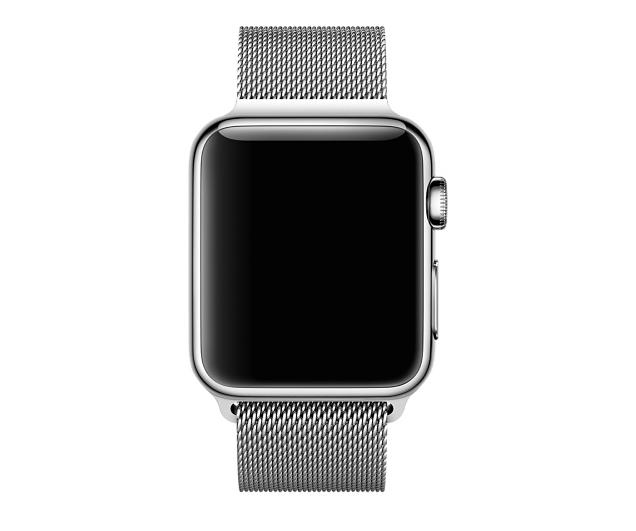 Ремешок Milanese Loop для Apple Watch 38мм (MJ5E2) Silver - 3