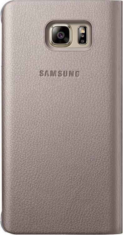 Чехол Samsung Note 5 N920 EF-CN920PFEGRU Gold - 1