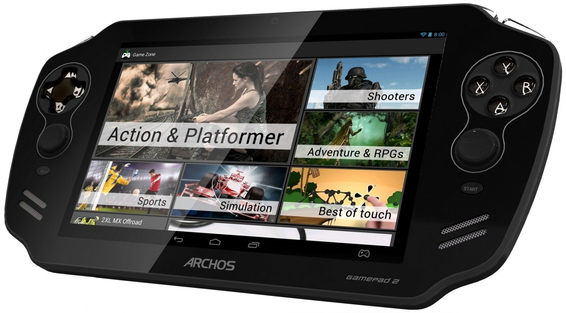 Планшет  Archos GamePad 2 Black - 4