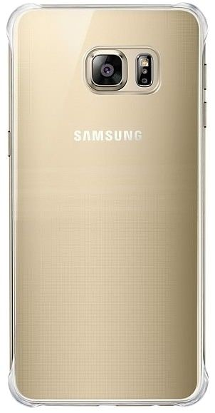 Чехол Samsung Clear Cover-Glossy Cover для Samsung Galaxy S6 edge+ Gold (EF-QG928MFEGRU) - 1