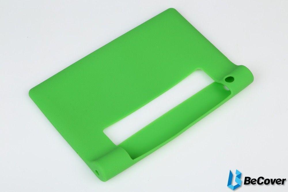 Силиконовый чехол BeCover для Lenovo Yoga Tablet 3-850 Green - 2