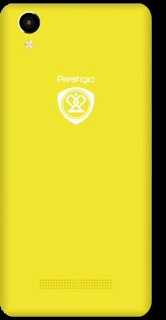 Мобильный телефон Prestigio 3507 Wize N3 Dual Yellow - 1