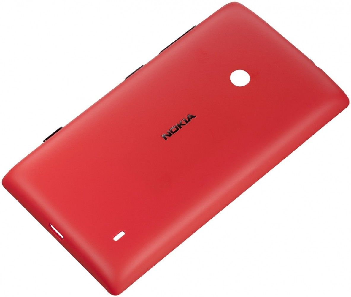 Панель Nokia CC-3068 Shell for Lumia 520 Red - 1
