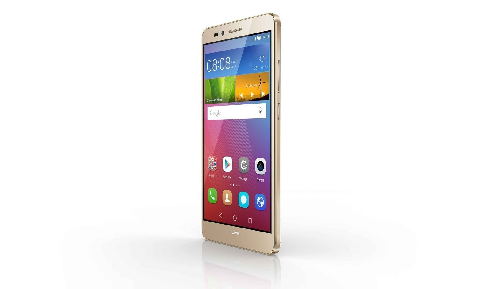 Мобильный телефон Huawei GR5 Dual Sim Gold - 4