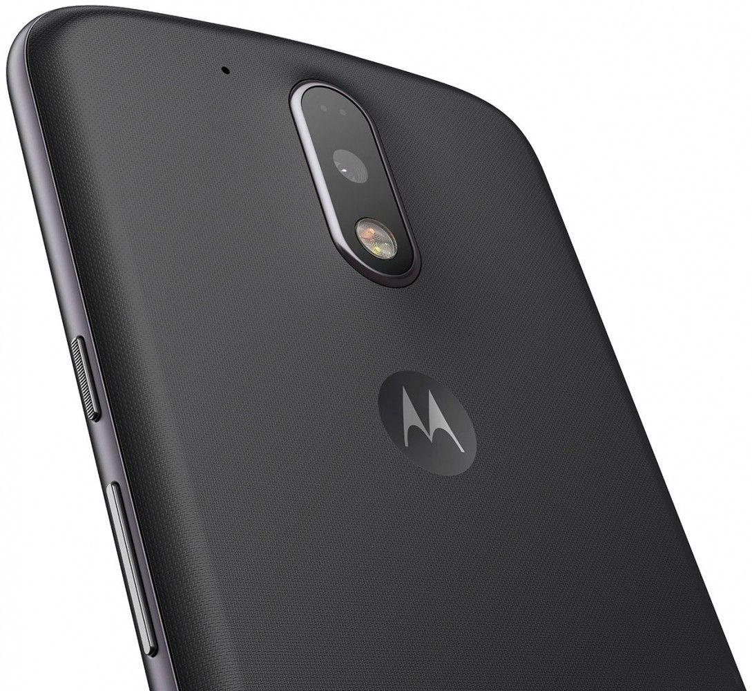 Мобильный телефон Motorola Moto G4 Plus (XT1642) Black - 1