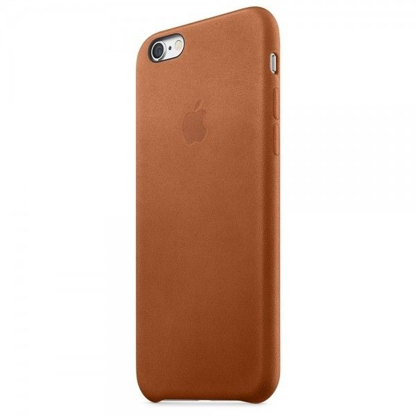 Чехол для Apple iPhone 6s Leather Case Saddle Brown (MKXT2ZM/A) - 1