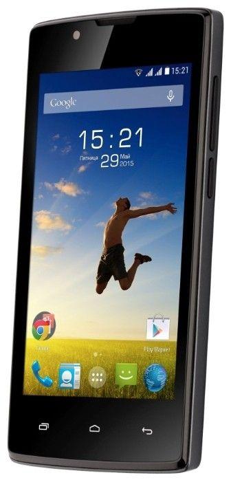 Мобильный телефон Fly FS401 Stratus 1 Black - 2