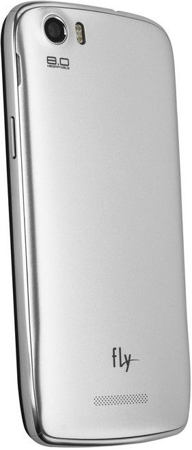Мобильный телефон Fly IQ4413 Quad EVO Chic 3 Silver - 1