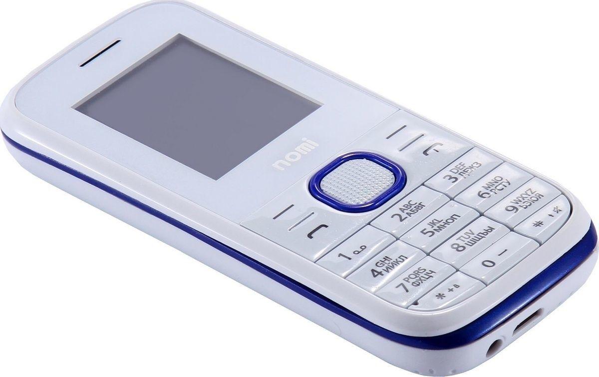 Мобильный телефон Nomi i181 White-Blue - 4