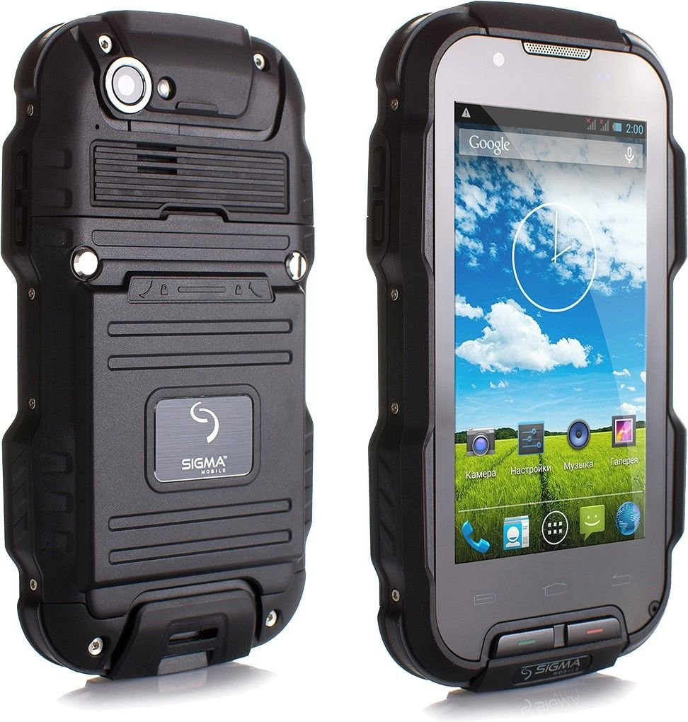 Мобильный телефон Sigma mobile X-treme PQ23 Black - 2