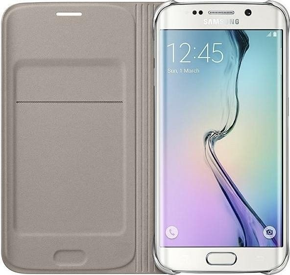 Чехол Samsung Zero Edge для Samsung Galaxy S6 Edge Gold (EF-WG925PFEGRU) - 2