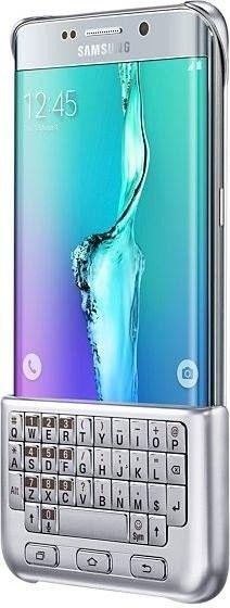 Чехол-клавиатура Samsung для Galaxy S6 edge+ Silver (EJ-CG928RSEGRU) - 3