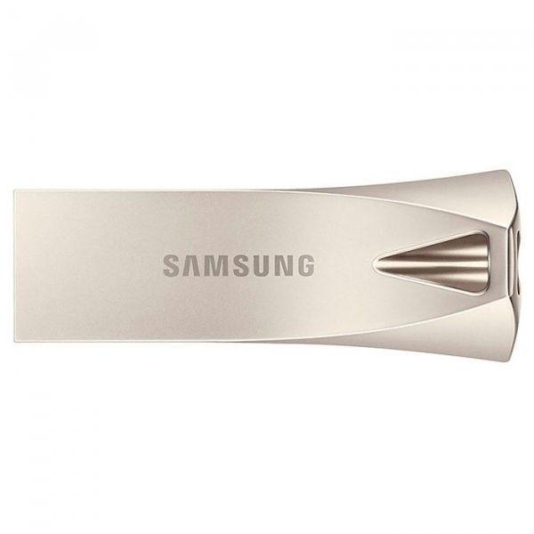 USB флеш накопитель Samsung Bar Plus USB 3.1 64GB (MUF-64BE3/APC) Silver от Територія твоєї техніки - 2