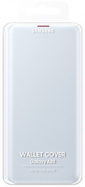 Чехол-книжка Samsung Wallet Cover для Samsung Galaxy A20 (EF-WA205PWEGRU) White