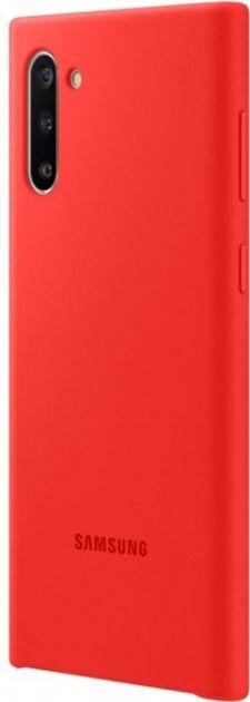 Накладка Samsung Silicone Cover для Samsung Galaxy Note 10 (EF-PN970TREGRU) Red от Територія твоєї техніки - 3