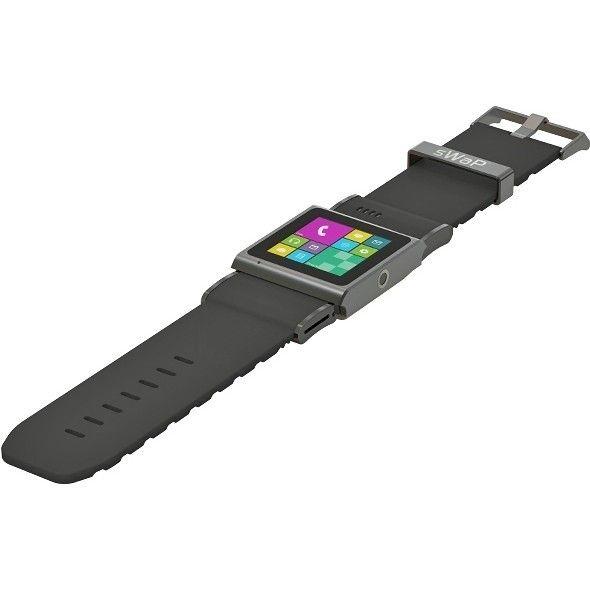 Смарт часы sWaP Social Black - 1