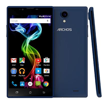 Мобильный телефон Archos 55 Platinum Blue - 1
