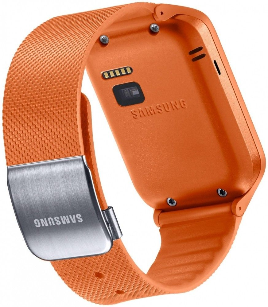 Смарт часы Samsung Gear 2 Neo (SM-R3810ZOASEK) Orange - 2