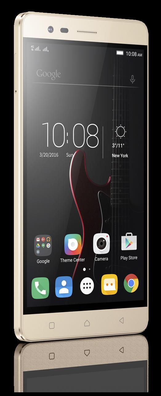 Мобильный телефон Lenovo Vibe K5 Note Pro (A7020A48) Gold - 2