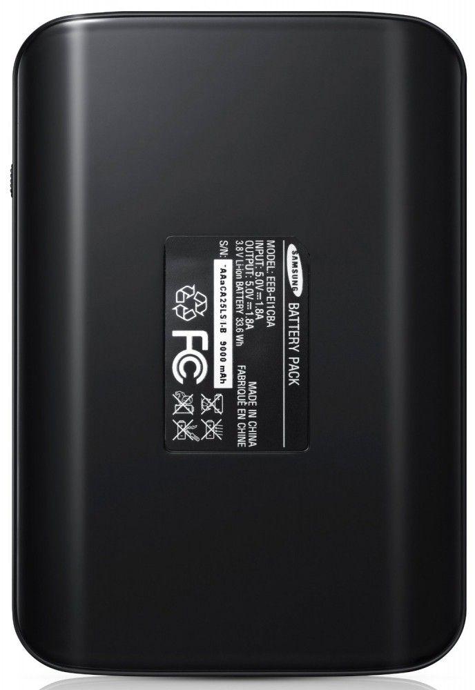 Портативная батарея Samsung EEB-EI1CBEGSTD 9000мАч black - 2