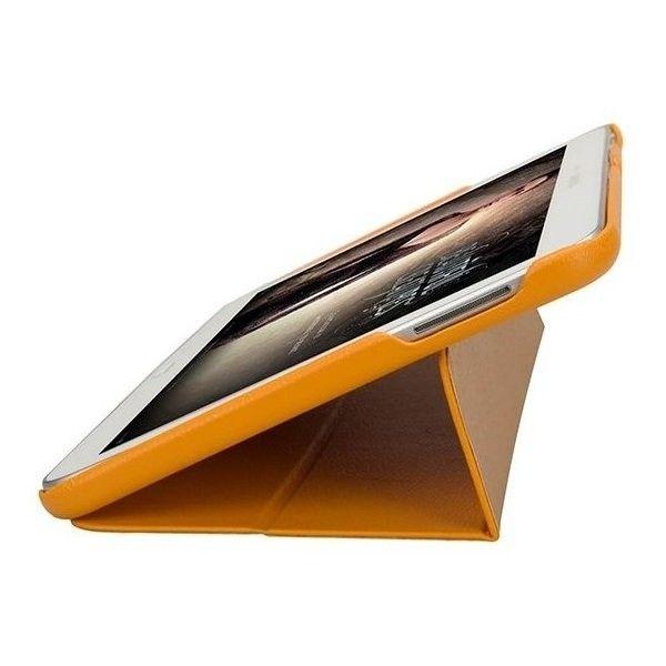 Чехол-книжка Jison Premium Leatherette Smart Case (JS-S52-03H80) Yellow for Galaxy Tab 3 10.1 (P5200) - 3