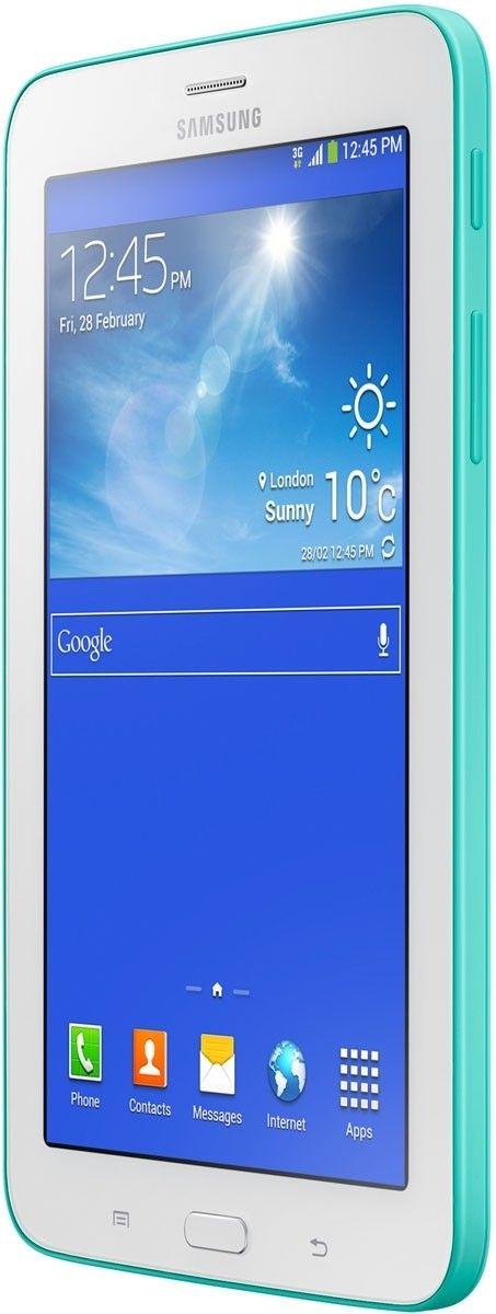 Планшет Samsung Galaxy Tab 3 Lite 7.0 8GB Blue Green (SM-T110NBGASEK)  - 2
