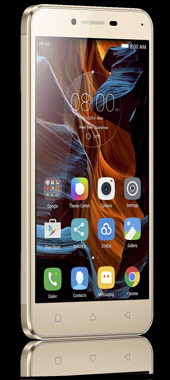 Мобильный телефон Lenovo K5 (A6020a40) Gold - 2