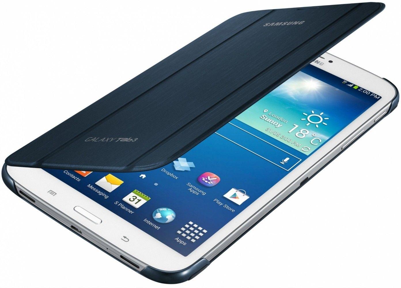 Обложка Samsung для Galaxy Tab 3 8.0 Topaz Blue (EF-BT310BLEGWW) - 1