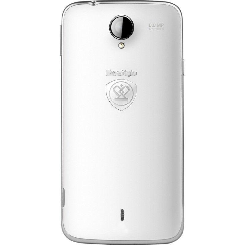 Мобильный телефон Prestigio MultiPhone 3502 Duo White - 2