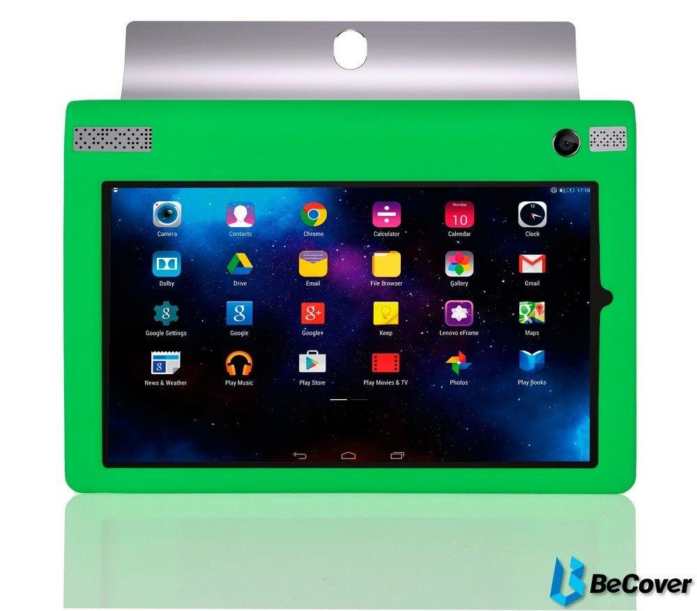 Силиконовый чехол BeCover для Lenovo Yoga Tablet 3-850 Green - 1