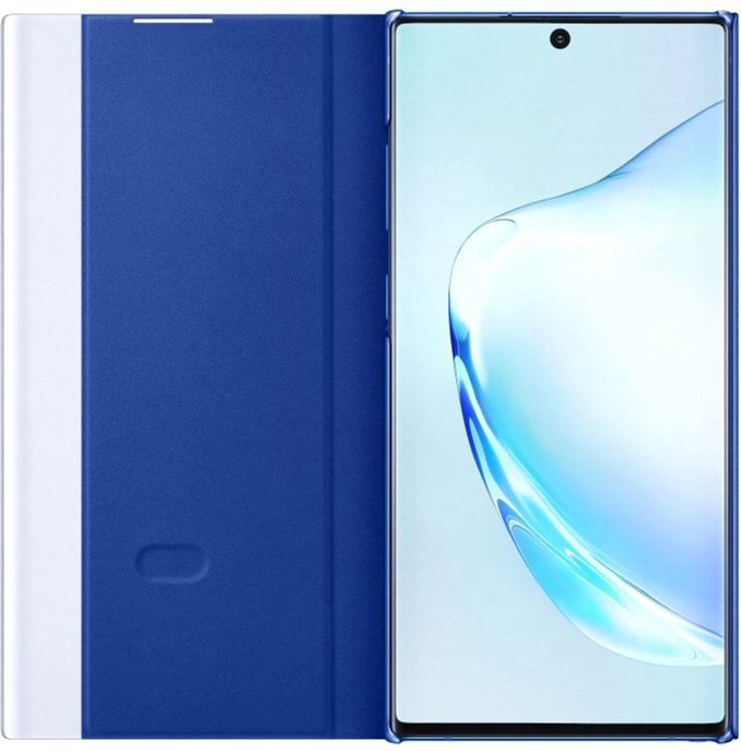 Чехол-книжка Samsung Clear View Cover для Samsung Galaxy Note 10 Plus (EF-ZN975CLEGRU ) Blue от Територія твоєї техніки - 3