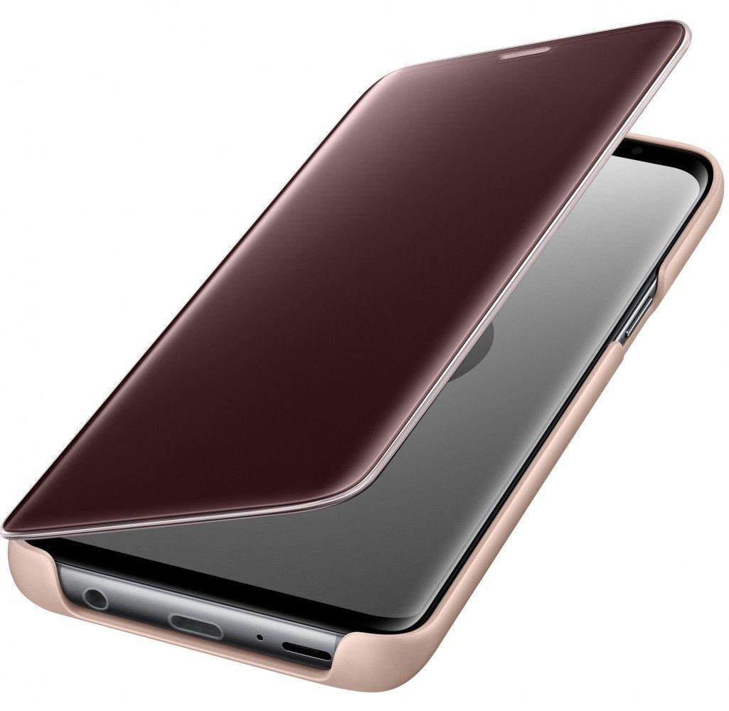 Чехол-Книжка Samsung Clear View Standing Cover S9 Gold (EF-ZG960CFEGRU) от Територія твоєї техніки - 4