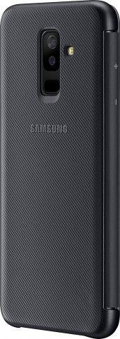 Чохол-книжка Samsung Flip wallet cover A6+ 2018 (EF-WA605CBEGRU) Black