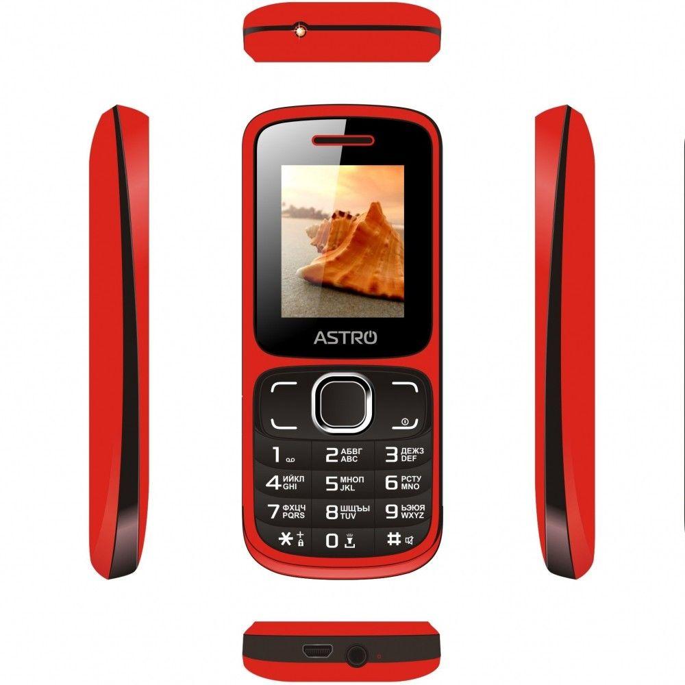 Мобильный телефон Astro A177 Red/Black - 2